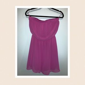*NWT* Express Strapless Dress